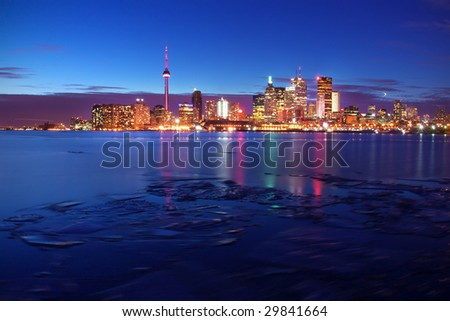 downtown toronto, ontario, canada - stock photo