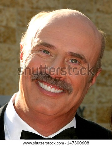 Dr Phil McGraw at the Daytime Emmys 2007 Kodak Theater Los Angeles, CA June 15, 2007 - stock photo