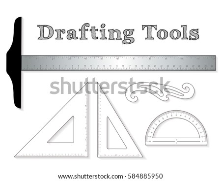 T square stock images royalty free images vectors for Online architecture drawing tool