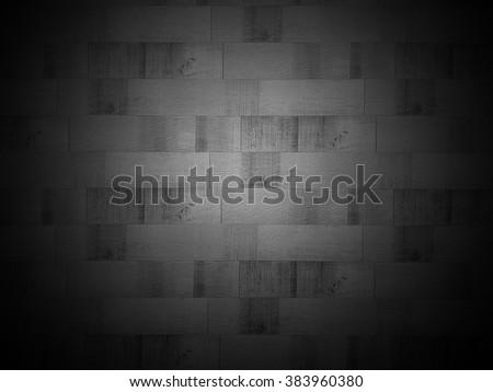 drak gray tile wall, mosaic tiles texture - stock photo