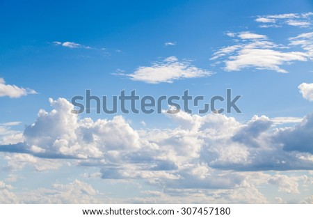 Dramatic cotton candy sky cloud texture background
