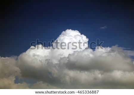 dramatic looking cloud formation