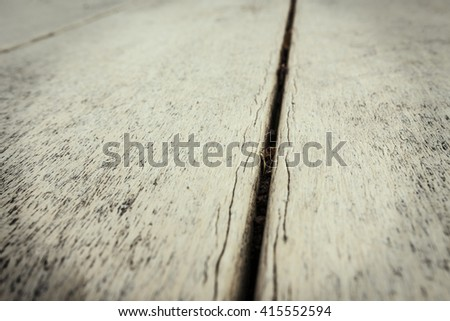 Dramatic wooden background. Wooden background black and white. Table in perspective. Wood Texture, Wooden Plank Grain Background, Striped Timber, Old Table or Floor Board - stock photo
