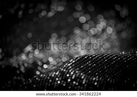Draped Lurex Fabric  - stock photo