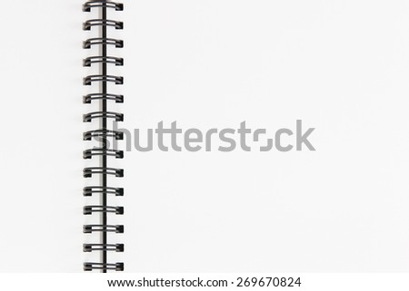 Drawing book  - stock photo