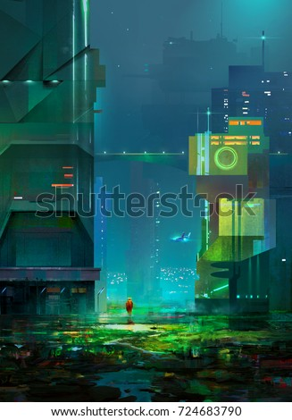 Cyberpunk Stock Images, Royalty-Free Images & Vectors ...