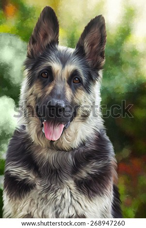 research paper on german shepherds