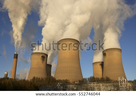 DRAX COAL FIRED POWER STATION SELBY NORTH YORKSHIRE ENGLAND