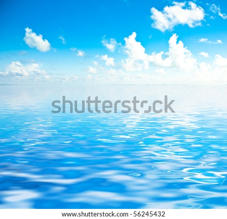 Dream Rendered Waves - stock photo
