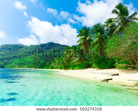 Dream Summertime Sea - stock photo