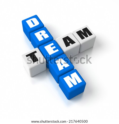 Dream Team crosswords. Part of a business concepts series.