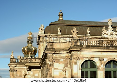 Dresden. - stock photo