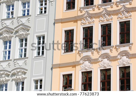 Dresden (German: Dresden, Czech: Dráž?any, Upper Sorbian: Drježd?any, Polish: Drezno) is the capital city] of the Free State of Saxony in Germany. - stock photo