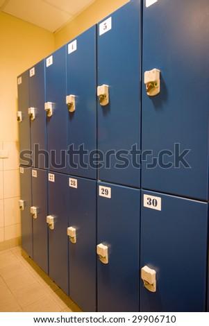 dressing room detail - stock photo