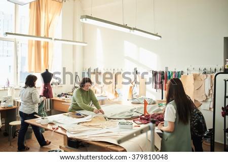 dressmaker - stock photo