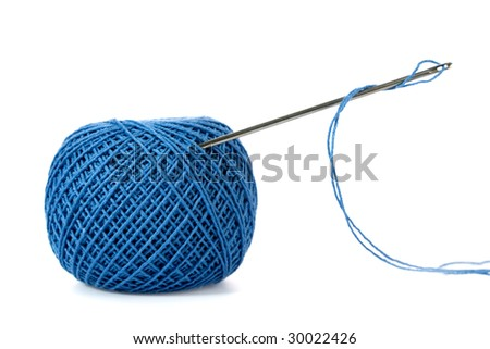 dressmaker object on white background