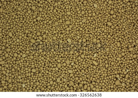 dried brewers yeast powder background - stock photo