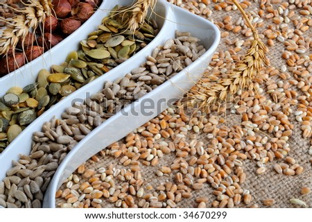 dried cereal seeds