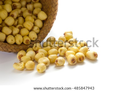 Dried crispy lotus seed