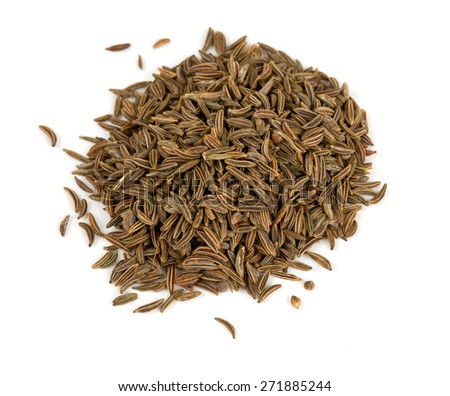 dried cumin - stock photo