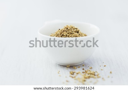 Dried Elderflower Tea