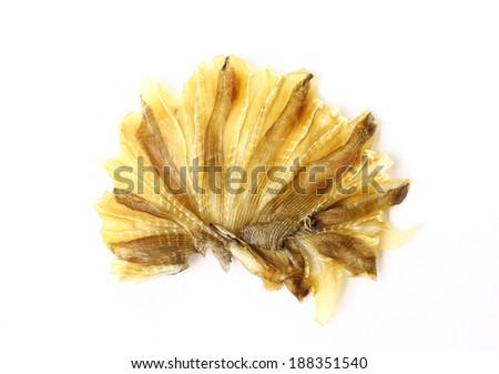 Dried fish - stock photo