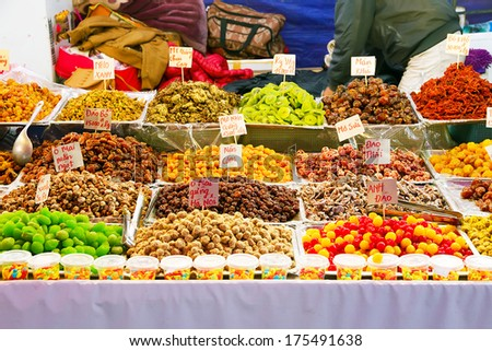 Dried Fruit - stock photo
