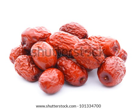 dried jujube fruits, chinese herbal medicine