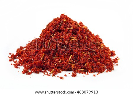 Dried paprika Spices
