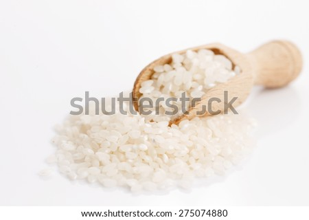 Dried sushi rice