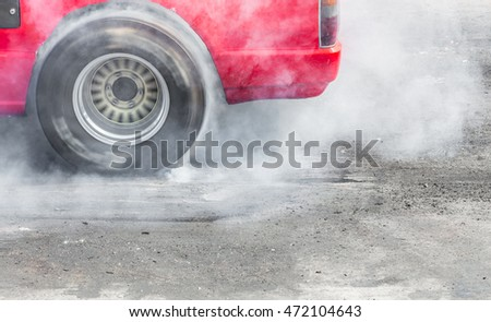 drift burn tire