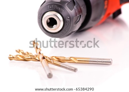 Drill Bits - stock photo