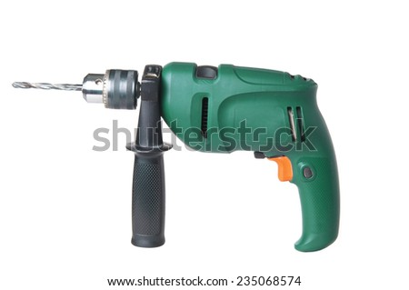 Drill closeup - stock photo