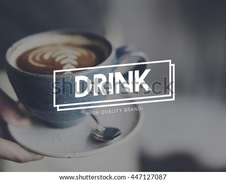 Drink Coffee Relaxing Break Time Rest Concept