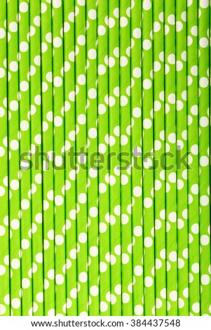 Drink straws background, close up