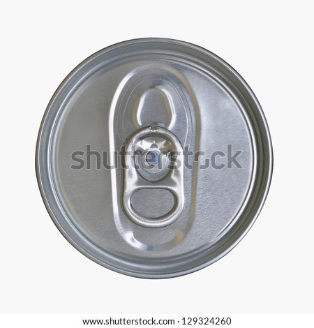 Drinks Can Cup on with background (with clipping path)