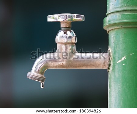 Dripping Taplack Water Stock Photo (100% Legal Protection) (Royalty ...