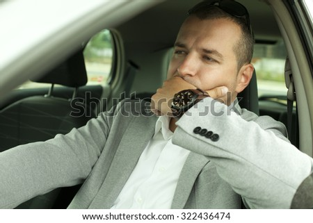 Driver in the Car