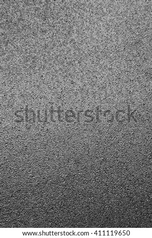 Driving road, asphalt surface from top view - stock photo
