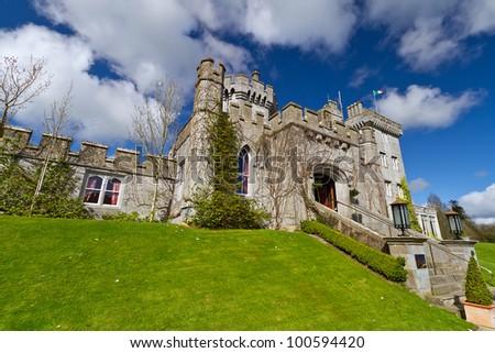 Dromoland Castle in Co. Clare, Ireland - stock photo