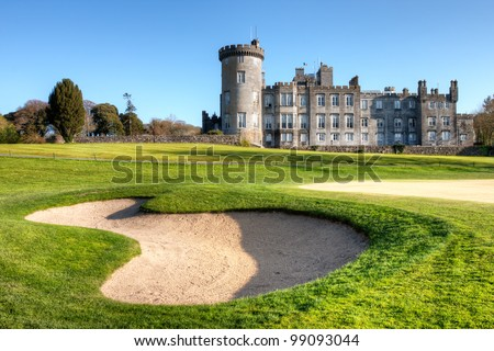 Dromoland Castle  in west Ireland. - stock photo