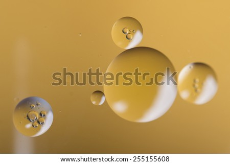 Drop of Blue Food Coloring - stock photo