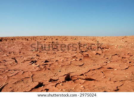 Drought Conditions - stock photo