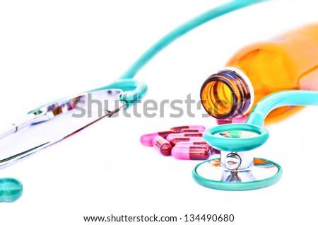 Drug treatment - stock photo