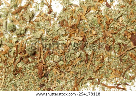 Drugs, Marijuana and Cannabis  - stock photo