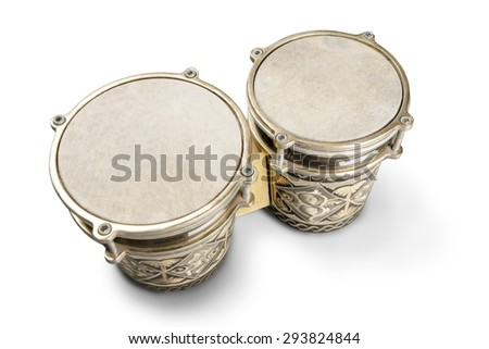 Drum, African Culture, Percussion Instrument. - stock photo