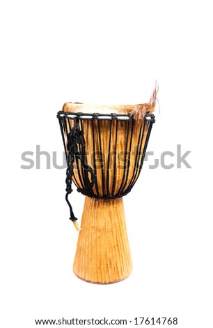 drum isolated on the white background