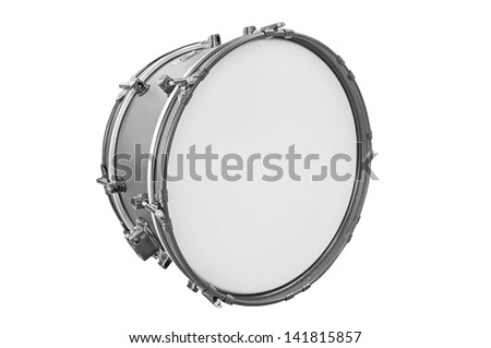 drum isolated under the white background