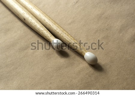 Drumsticks - stock photo