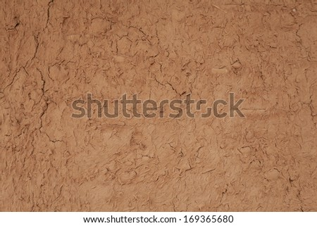Dry cracked clay background  - stock photo
